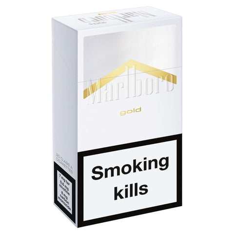 Marlboro Gold Cigarettes | Cigarettes Delivery | Booze Up