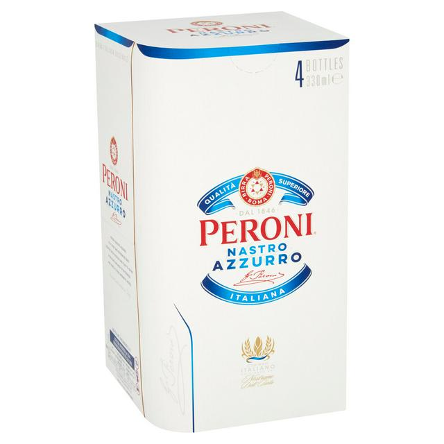 Peroni Beer - X4 Pack
