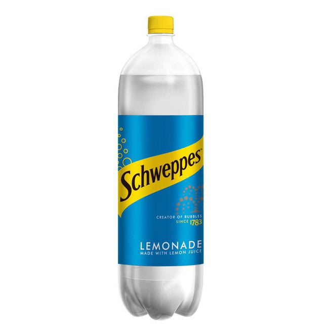 Schweppes Lemonade | Soft Drinks Delivery | Booze Up