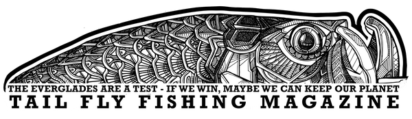 Sticker - Save the Everglades - Tail Fly Fishing Magazine - Online Fly Shop