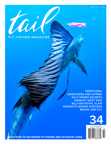 Tail fly fishing magazine 32 tail magazine fly shop for Saltwater fly fishing magazine