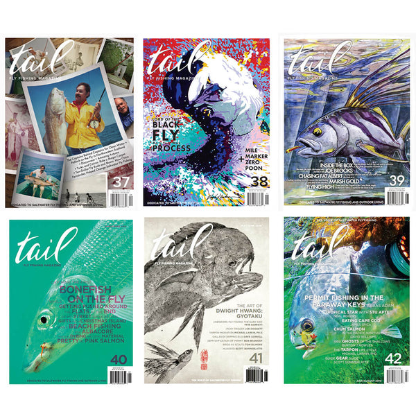 Volume 6 - the Complete Set - Tail Fly Fishing Magazine - Online Fly Shop