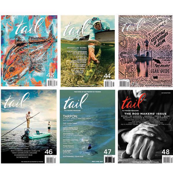 Volume 7 - the Complete Set - Tail Fly Fishing Magazine - Online Fly Shop