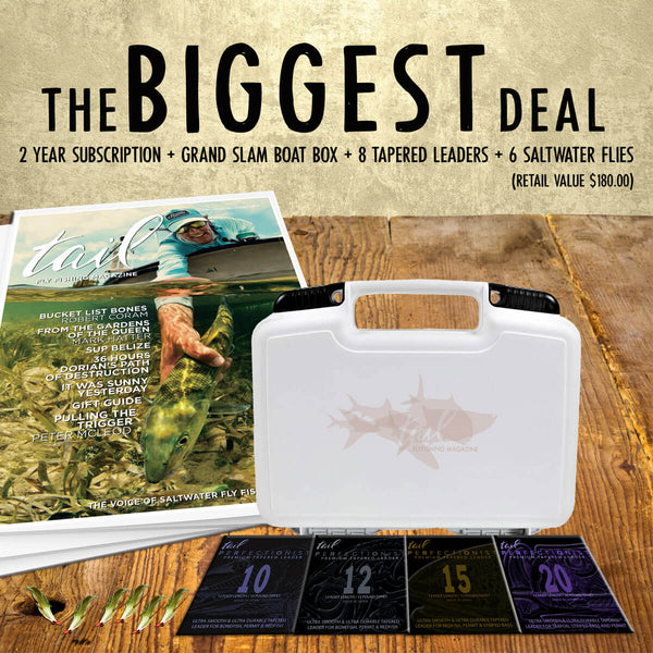 The Biggest Deal 2019 - Tail Fly Fishing Magazine - Online Fly Shop