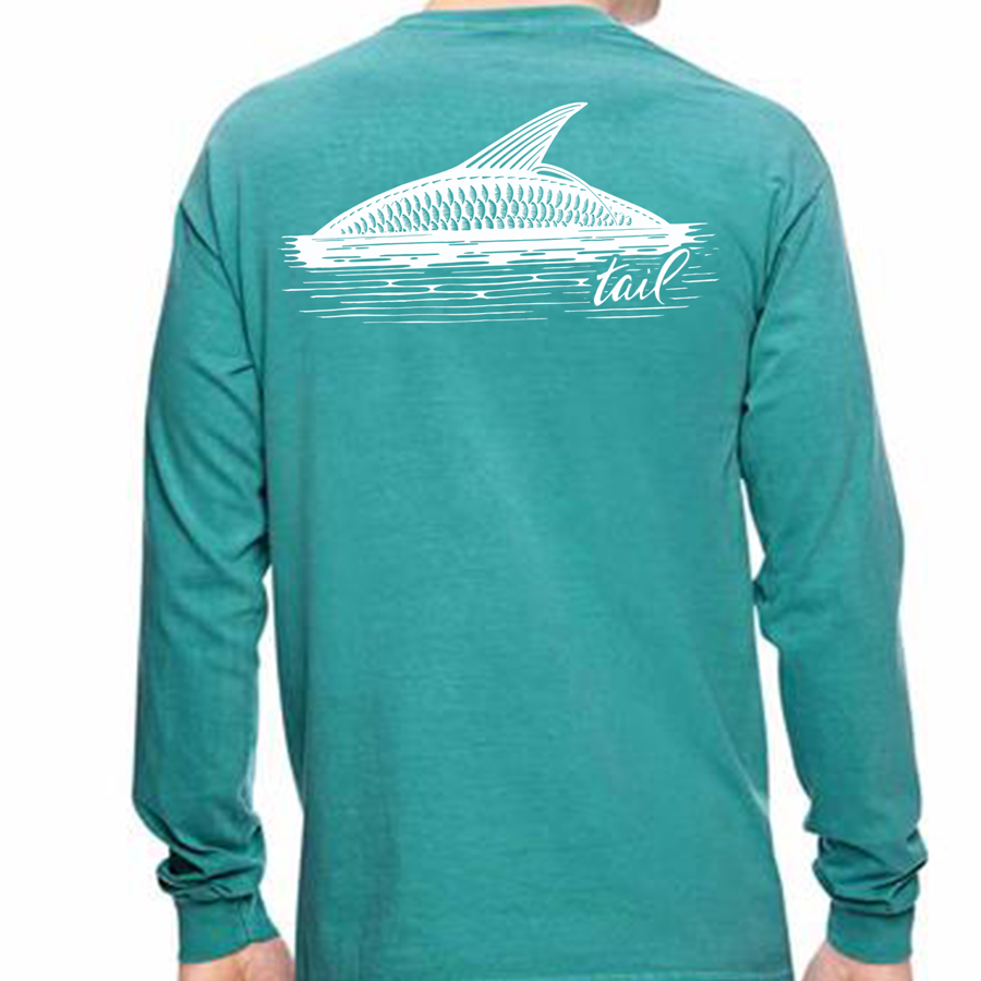 Long Sleeve Tee - Rolling Tarpon - Tail Fly Fishing Magazine - Online Fly Shop