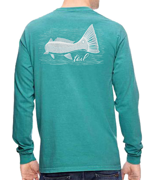 Long Sleeve Tee - Redfish Tailing - Tail Fly Fishing Magazine - Online Fly Shop