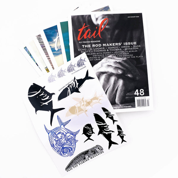 Sticker Pack Subscription - Tail Fly Fishing Magazine - Online Fly Shop