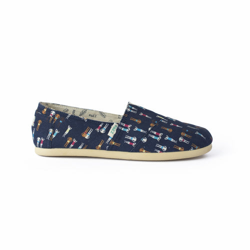 Print - Swimmers Navy