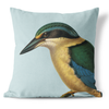 CUSHION COVER- Hushed Kingfisher, Blue