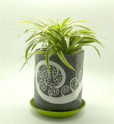 GROW BAG- Fern Frond, mid grey