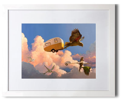 FRAMED PRINT STANDARD - In Flight