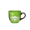 Green Rangitoto Mug
