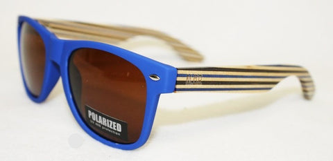 SUNNIES- Original, Matte Blue, Striped arm