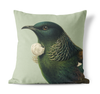 CUSHION COVER - Hushed Tui , Green