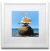 FRAMED PRINT LARGE - The Balancing Act