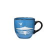 Blue Rangitoto Mug
