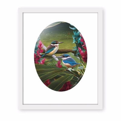 'Harmony' FRAMED ART PRINT by Lucy G