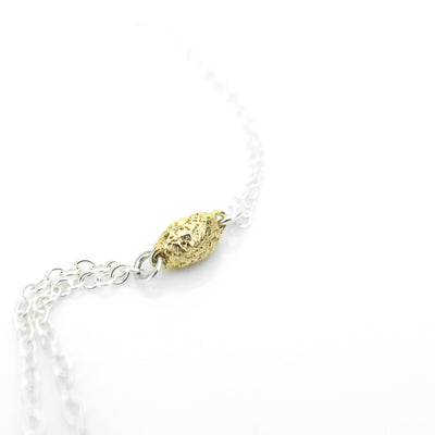 Necklace - Golden Seed Tassel (9ct)