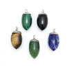 Greenstone Acorn Necklace