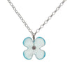 Eco Glass Necklace, Hydrangea