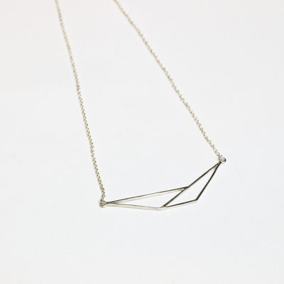 Origami Bar Necklace