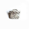 Brooch - Kete White