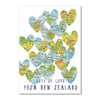 Lots of Love from NZ - Tuesday Print Card
