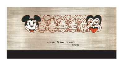 RECYCLABLE CUP- Mickey to tiki, Dick Frizzell