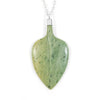 Pounamu Leaf Necklace - Light Ombre