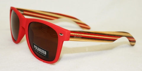 SUNNIES- Original, Matte Red, Striped arm