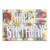 CARD- Tuesday Print, Vintage Floral Birthday