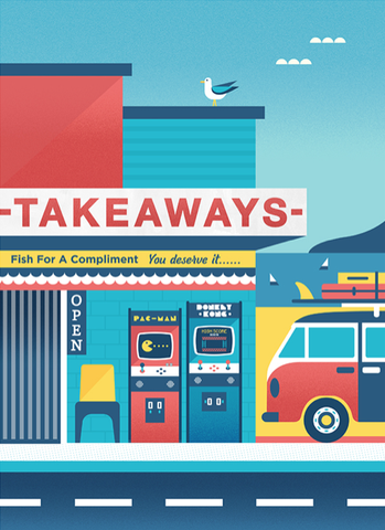 ART PRINT A4- Tiki Tour Takeaways