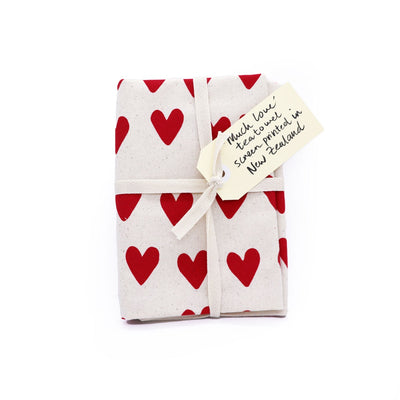 Tea Towel - Much Love, Tuesday Print