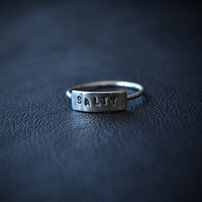 Salty Word Ring