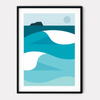 A4 Art Print - West Coast Waves