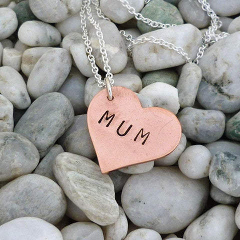 NKL- Mum Heart, Copper