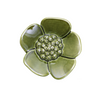 Moss Green Ribbonwood Flower Wall Ornament, small