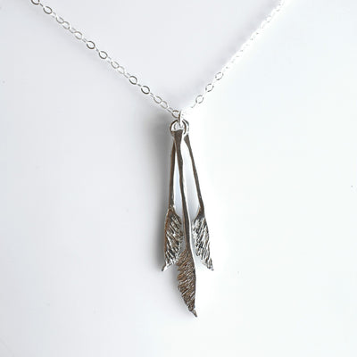 Triple Toetoe Necklace