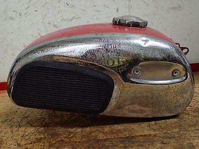 1968 Jawa 590 Californian gas fuel tank and cap - Vintage MX
