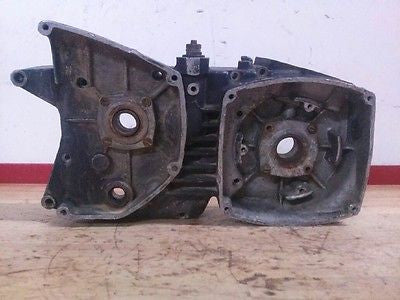 1972 Husqvarna WR450 WR 450 right engine case crankcase motor - Vintage MX