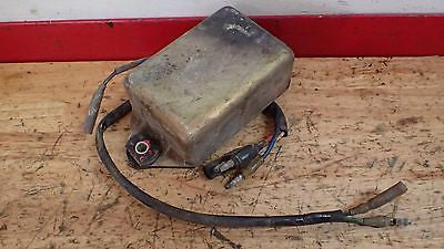 1981 Honda CR250  CR 250 CDI ignition - Vintage MX