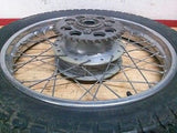 1972 Honda CL350 CL 350 rear wheel and sprocket - Vintage MX