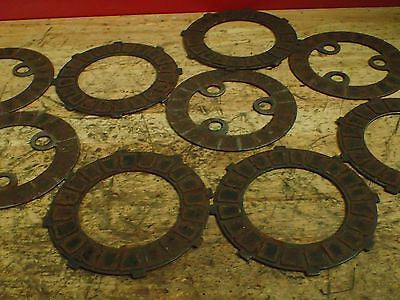 1968 Jawa 590 Californian clutch plates friction disks discs - Vintage MX