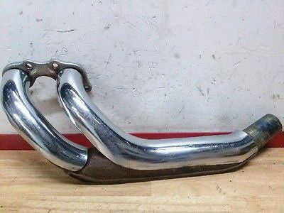 Honda Goldwing left exhaust header pipe OEM 1984-1987 - Vintage MX