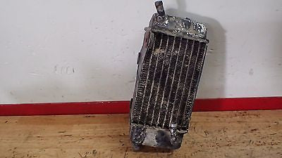 1982 Honda CR125 125 CR250  CR 250 left radiator - Vintage MX