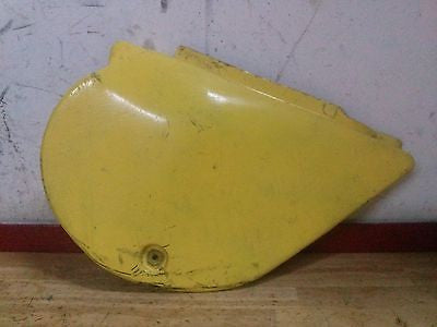 1977 1978 Yamaha YZ125 YZ 125 right side cover panel - Vintage MX