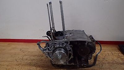 1975 Honda CB200 CB 200 CB200T engine crankcase crankshaft transmission clutch - Vintage MX