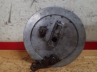 1968 Jawa 590 Californian rear brake hub drum shoes - Vintage MX
