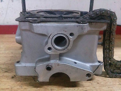 1995 Husqvarna TE350 TE 350 cylinder head and valves timing chain - Vintage MX