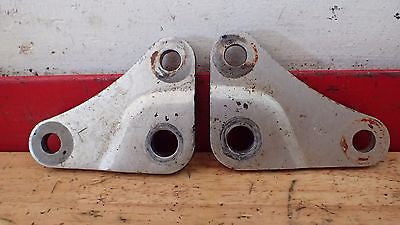 1983 Honda CR250 CR 250 CR480 480 rear engine brackets mounts hanger plate - Vintage MX